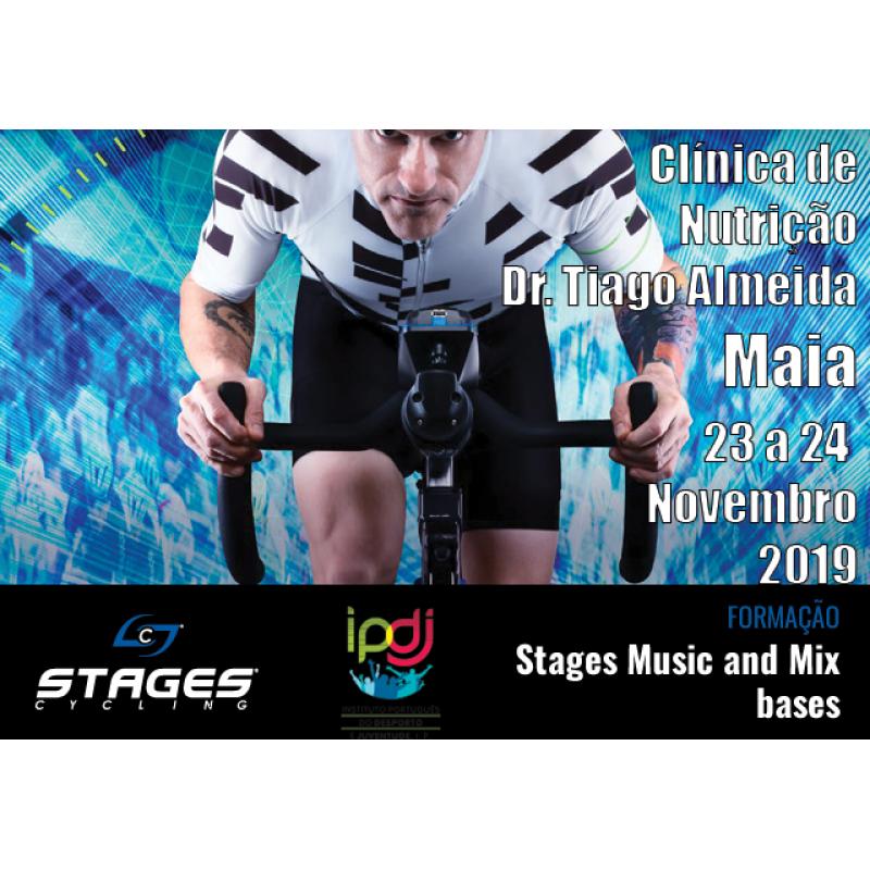 Formação Music and Mix Stages - Maia - 23 a 26 Novembro 2019